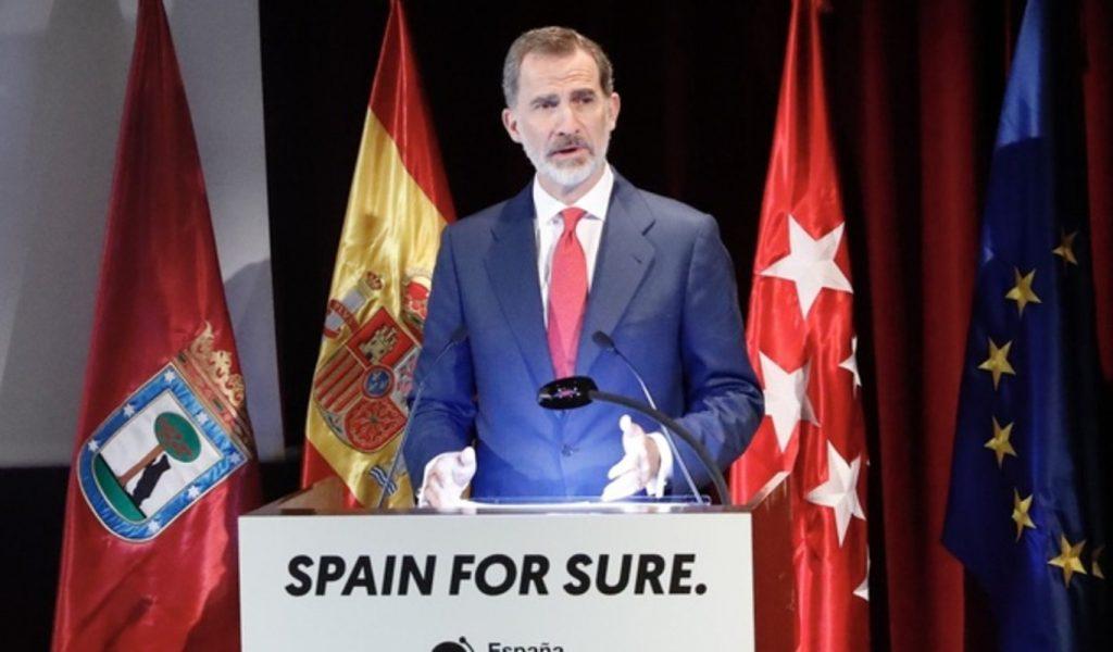 El Rey presentó el Spain Sure
