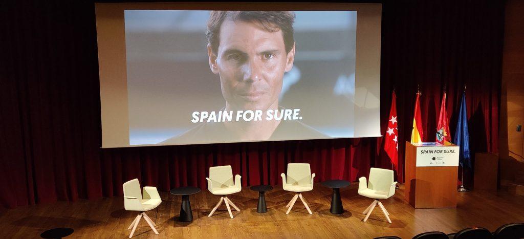 Rafa Nadal también ha participado en  Spain Sure